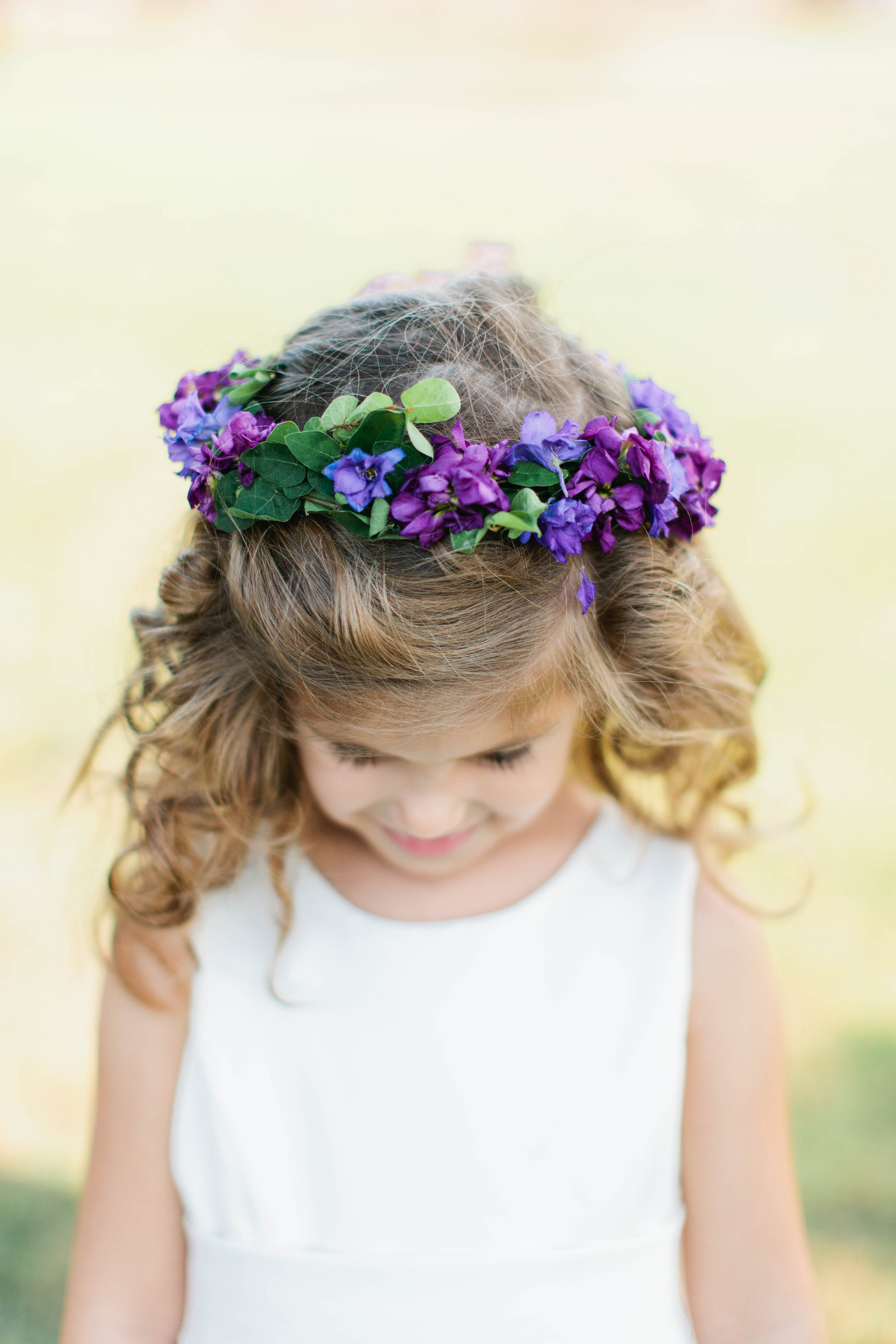 Flower crown for flower girl bouquets of austin flower crown for flower girl izmirmasajfo
